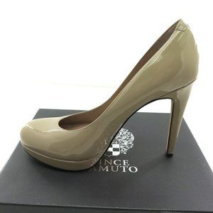 NEW Womens Vince Camuto Sarika Heels Fawn Size 10M